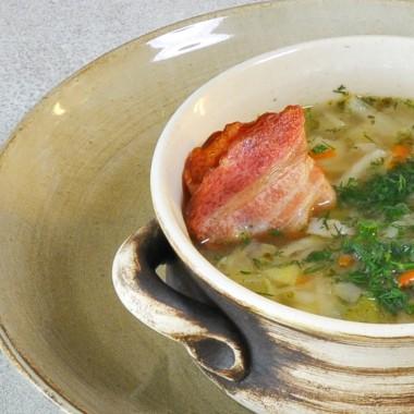 Zupa - z Młodej Kapusty
