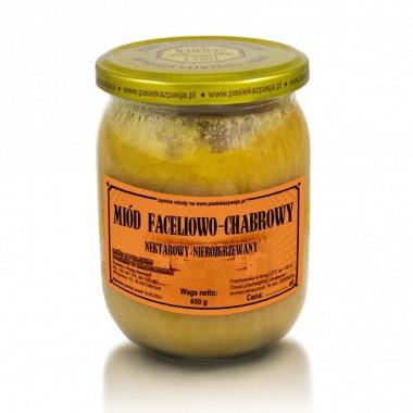 Miód Faceliowo-Chabrowy 650g